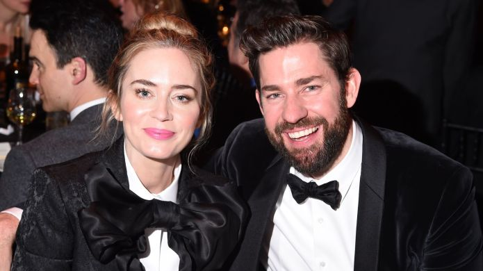 Emily Blunt & John Krasinski Wore Matching Outfits to the Writers Guild Awards, & It Was Perfect – SheKnows