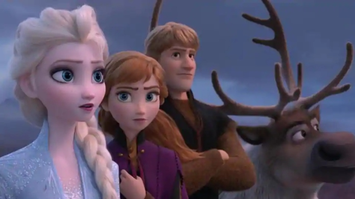 A scene from 'Frozen 2.'