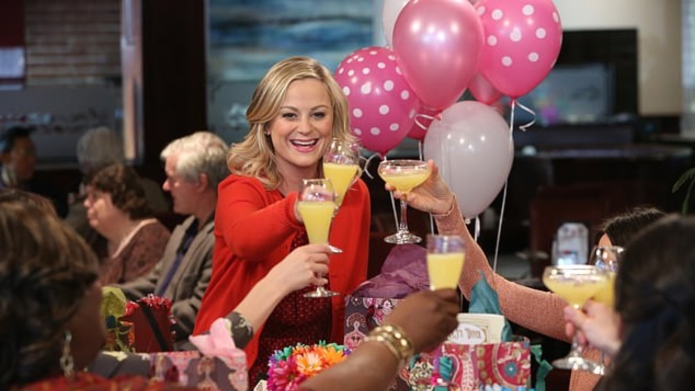 Amy Poehler as Leslie Knope on