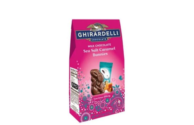 Ghirardelli Easter Milk Chocolate Sea Salt Caramel Bunny