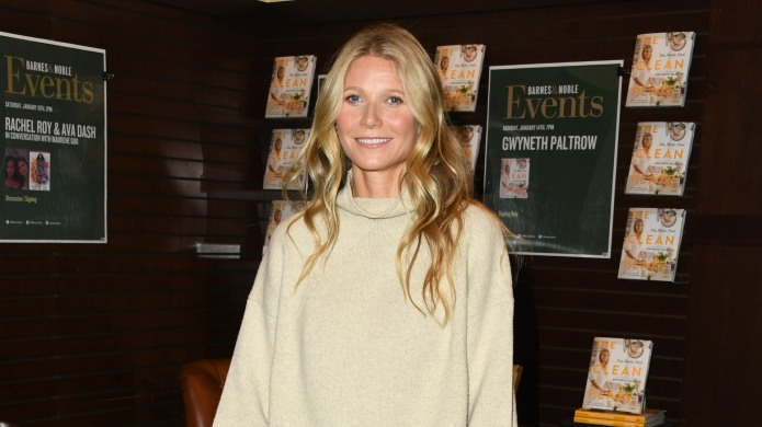 Gwyneth Paltrow Signs Copies Of Her