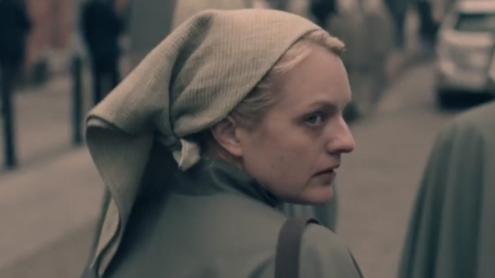 Elisabeth Moss in 'The Handmaid's Tale.'