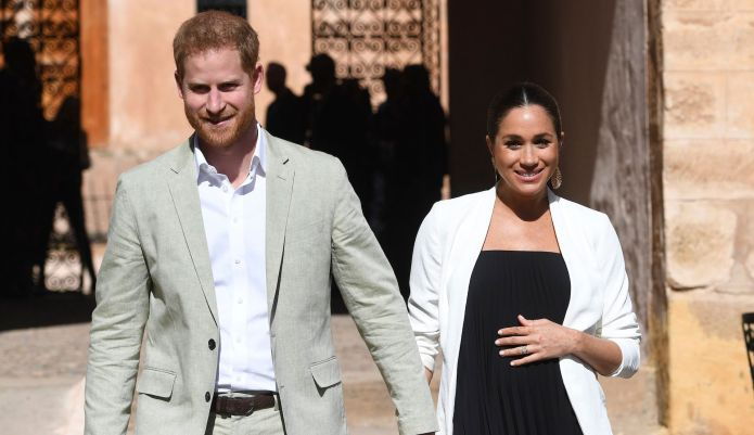 Prince Harry Feigns Shock at Meghan