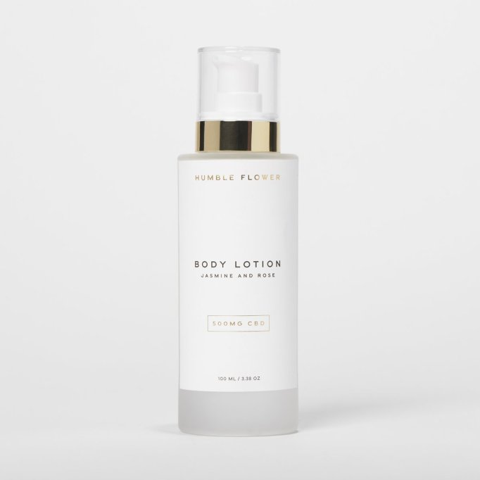 Humble Flower CBD-infused lotion