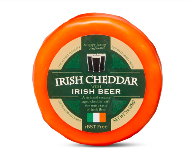 Aldi Is Celebrating St. Patrick's Day With Green, Booze-Infused Cheese – SheKnows