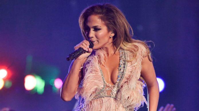 Photo of Jennifer Lopez at Grammys