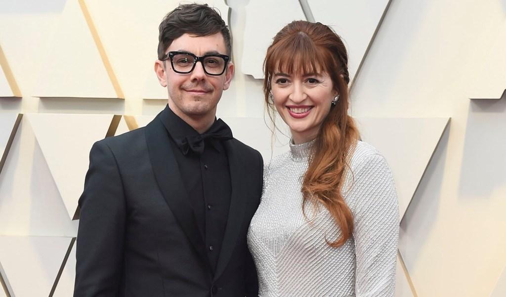 Jorma Taccone and Marielle Heller at 2019 Oscar Awards.