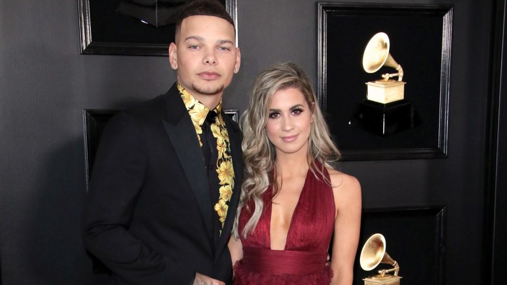Kane Brown & Katelyn Brown at the Grammys.