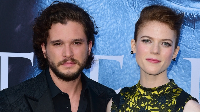 Kit Harington, Rose Leslie attend the