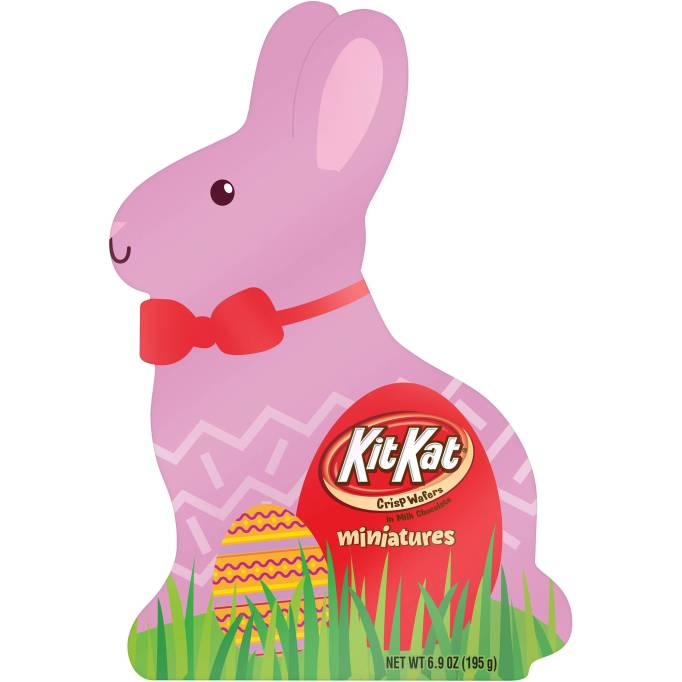 Kit Kat Miniatures Easter Bunny Box