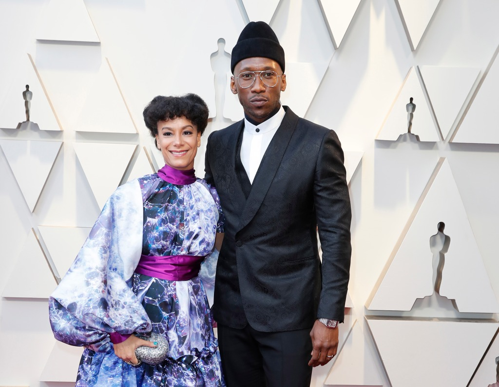 Amatus Sami-Karim (L) and Mahershala Ali (R) arrive for the 91st annual Academy Awards ceremony at the Dolby Theatre in Hollywood, California, USA, 24 February 2019. The Oscars are presented for outstanding individual or collective efforts in 24 categories in filmmaking.Arrivals - 91st Academy Awards, Los Angeles, USA - 24 Feb 2019.