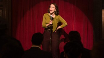Rachel Brosnahan in 'The Marvelous Mrs.