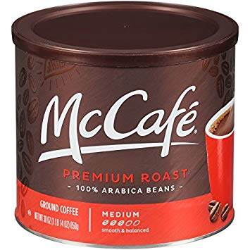 McCafe grocery store coffee.