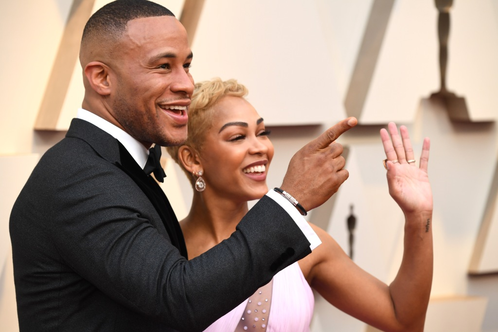 DeVon Franklin and Meagan Good91st Annual Academy Awards, Arrivals, Los Angeles, USA - 24 Feb 2019.