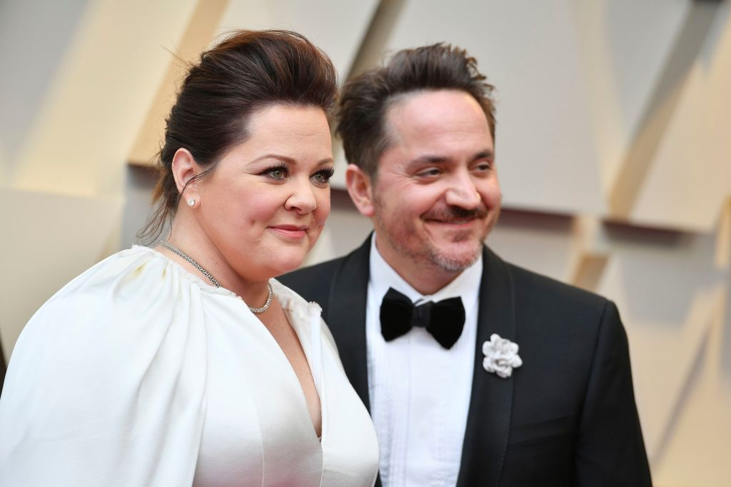 Melissa McCarthy, Ben Falcone. Melissa McCarthy, left, and Ben Falcone arrive at the Oscars, at the Dolby Theatre in Los Angeles91st Academy Awards - Arrivals, Los Angeles, USA - 24 Feb 2019.