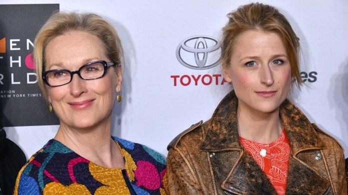 Meryl Streep, Mamie Gummer attend Women