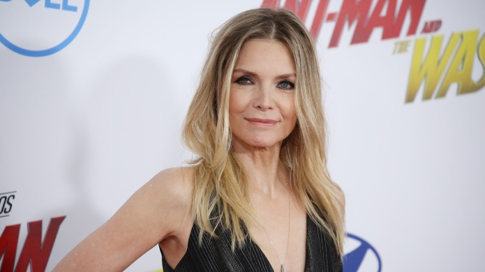 Michelle Pfeiffer arrives at the 'Ant-Man