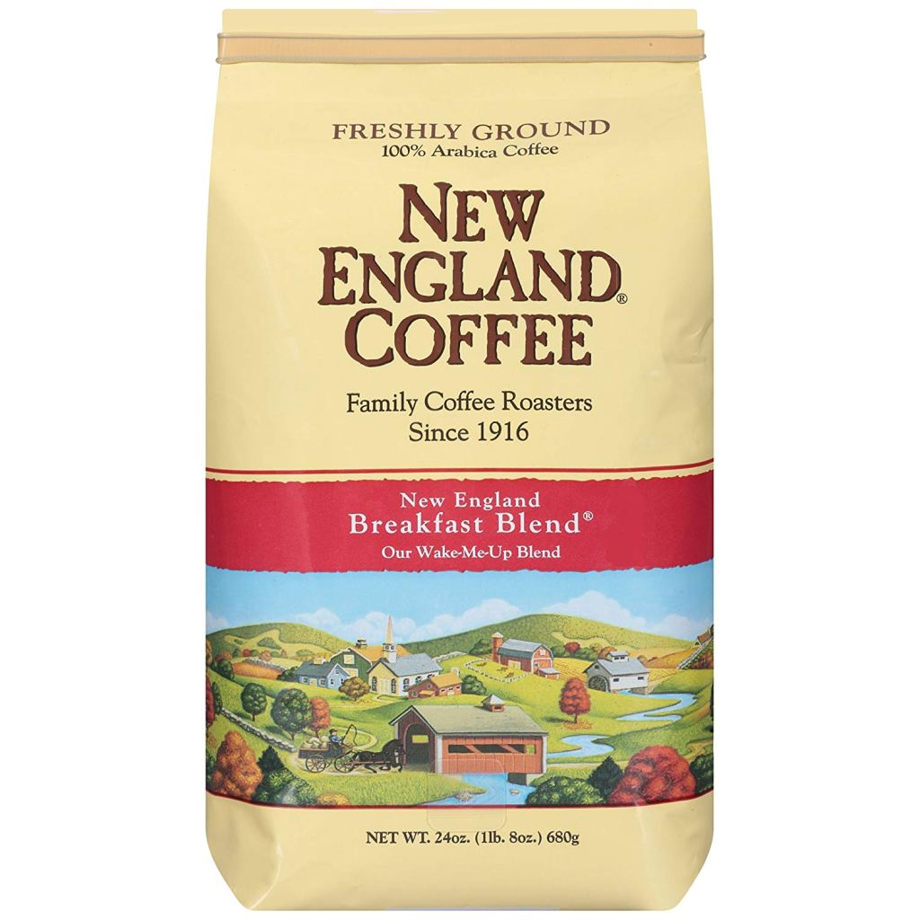 New England Coffee grocery store coffee.