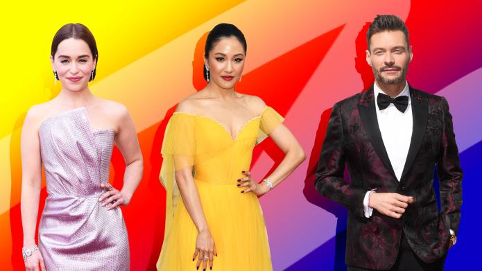 Emilia Clarke, Constance Wu, Ryan Seacrest