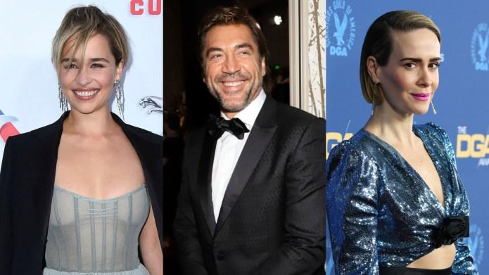 Emilia Clarke, Javier Bardem & Sarah