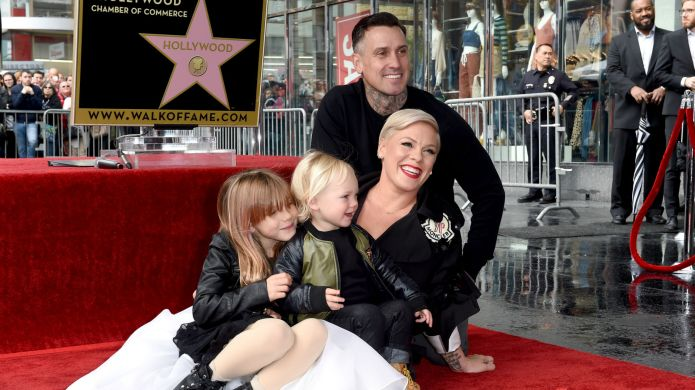 Photo of Pink and her family