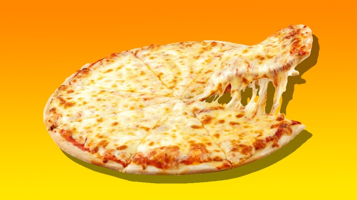 cheese pizza graphic