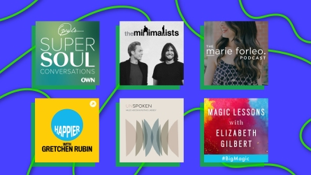 inspiring podcasts