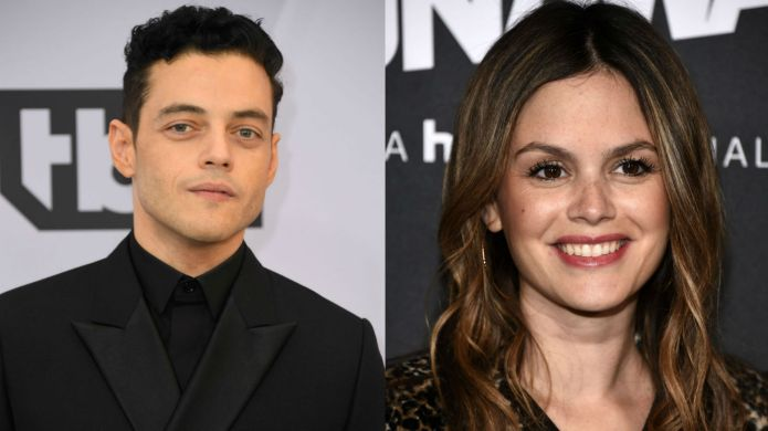 Photo of Rami Malek and Rachel