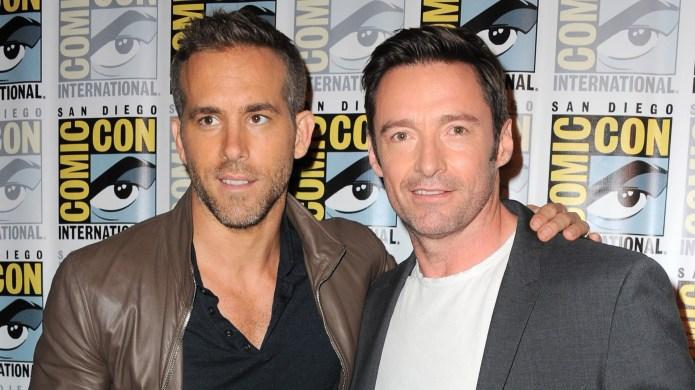 Ryan Reynolds and Hugh Jackman attend