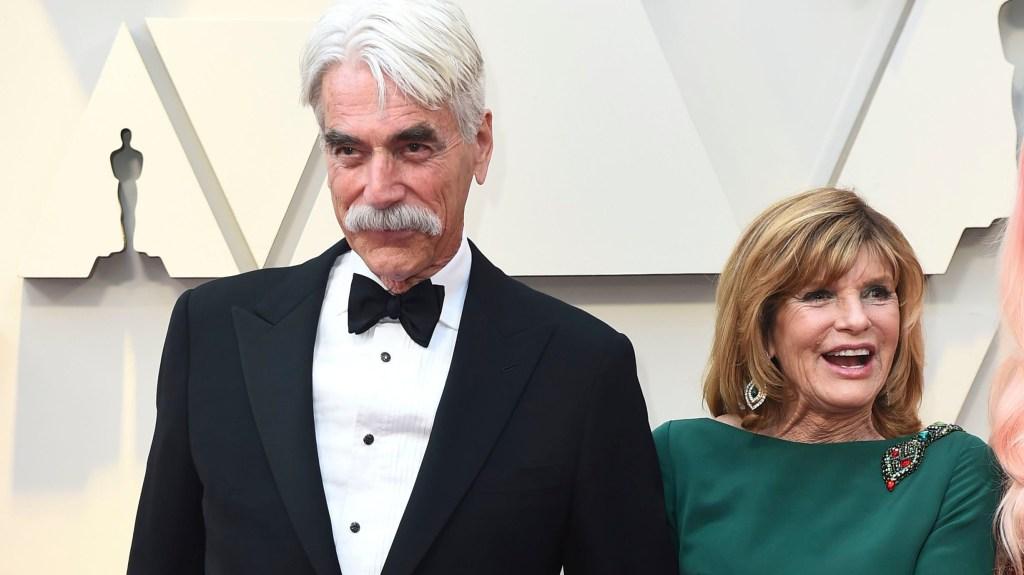 Sam Elliott and Katharine Ross at the 91st Oscars.