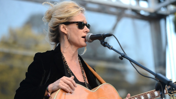 Singer Shelby Lynne performs onstage during Hardly Strictly Bluegrass festival at Golden Gate Park on October 8, 2017 in San Francisco, California.