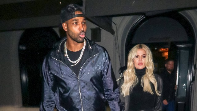Photo of Khloe Kardashian & Tristan Thompson in Los Angeles