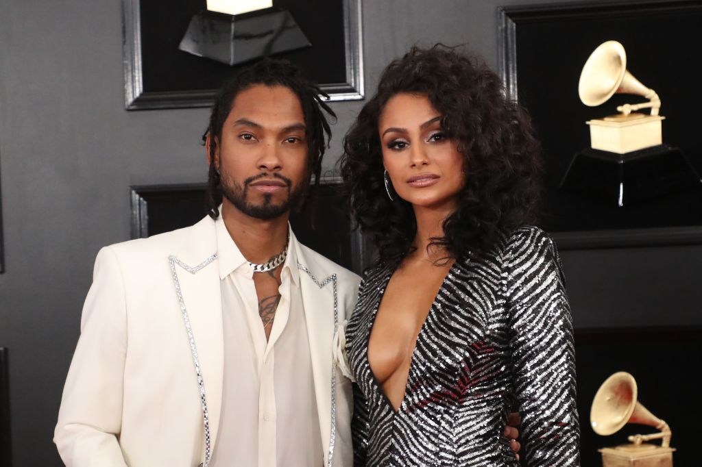 Miguel and Nazanin Mandi61st Annual Grammy Awards, Arrivals, Los Angeles, USA - 10 Feb 2019