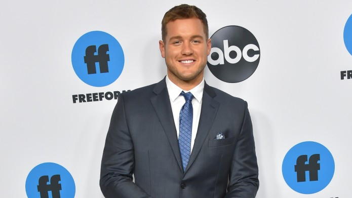 Colton Underwood at a Freeform event