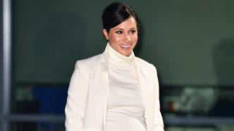 Meghan Markle attends National Theatre event