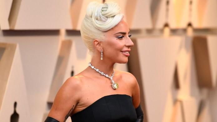 Lady Gaga at 2019 Oscars on