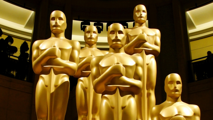 photo of academy award statues