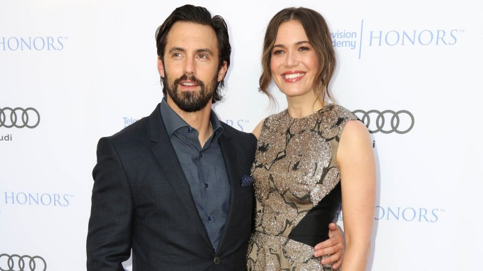 Milo Ventimiglia and Mandy Moore at