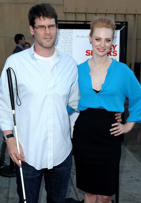 "Cast member Deborah Ann Woll, right, and EJ Scott arrive at the premiere of ""Ruby Sparks"", in Los Angeles. ""Ruby Sparks"" opens in theaters July 25, 2012 Premiere Ruby Sparks LA, Los Angeles, USA"