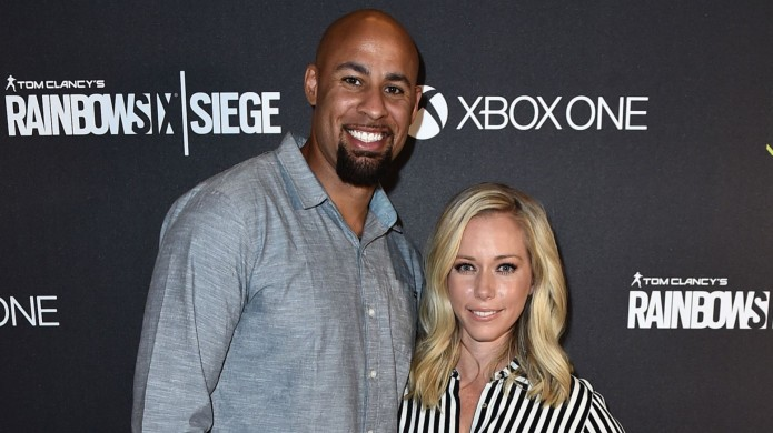 Kendra Wilkinson Hank Baskett together