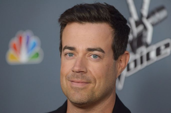 """Carson Daly arrives at the 4th season premiere screening of """"The Voice"""" at the TCL Theatre, in Los Angeles. NBC said, that """"Last Call with Carson Daly"""" has been renewed for a 13th seasonTV-Carson Daly, Los Angeles, USA"""