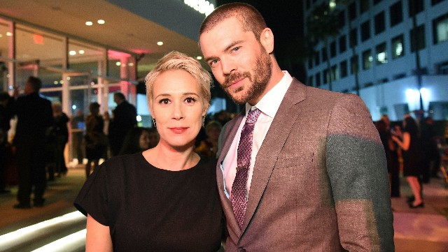 Liza Weil and Charlie Weber at Television Hall of Fame event