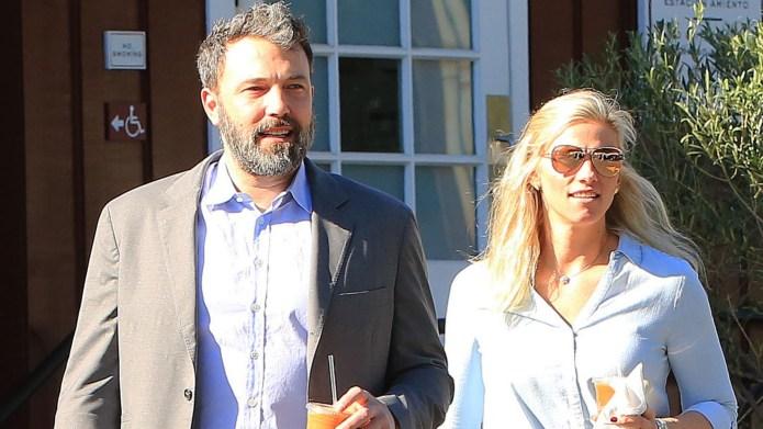 Ben Affleck and Lindsay Shookus out
