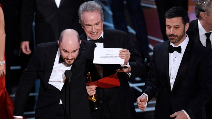 Still from 2017 Oscars with Best
