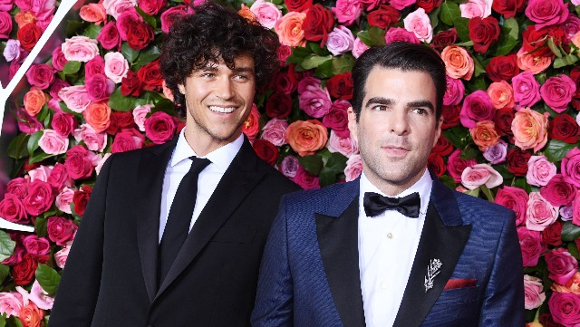 Photo of Zachary Quinto & Miles McMillan