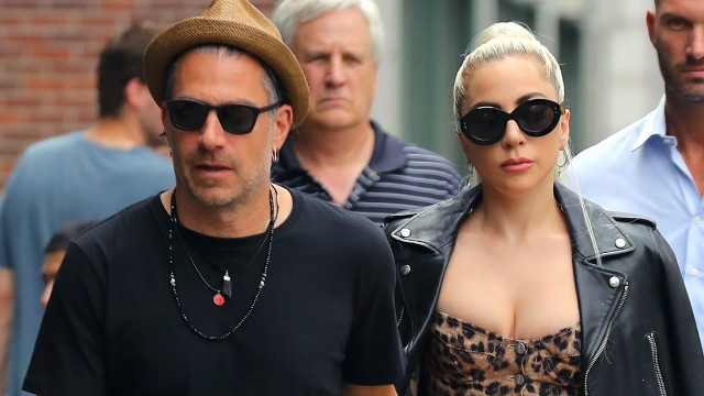 Photo of Christian Carino and Lady Gaga in New York City in 2019