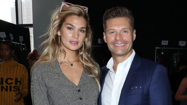 Photo of Ryan Seacrest & Shayna Taylor