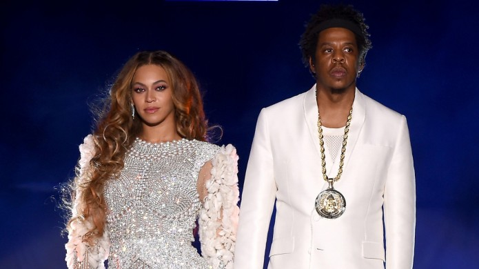 Beyonce and Jay Z in concert