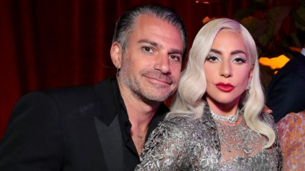 Lady Gaga and Christian Carino at