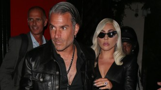 Lady Gaga and Christian Carino in